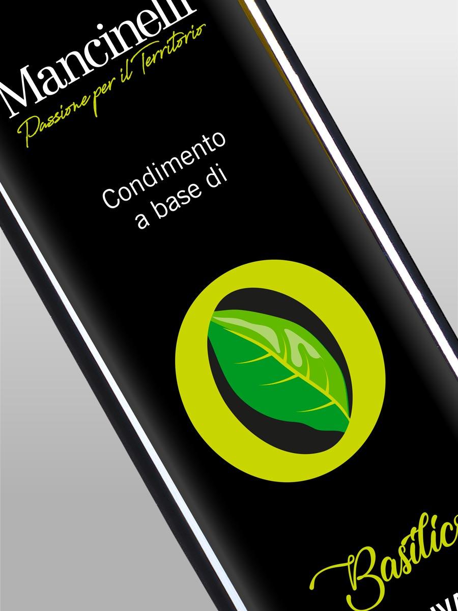 Condimento - Mancinelli Vini - Morro d'Alba - Condimento a base di Basilico e Oliva - 1